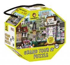 Ludattica Puzzle pro děti - Ludattica -Paříž - 150 dílů