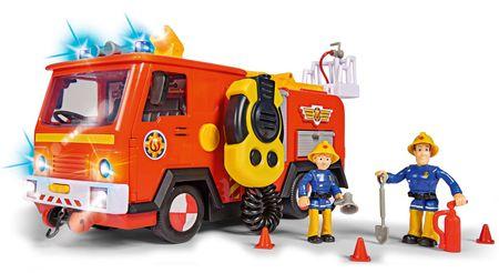 SIMBA Strażak Sam wóz strażacki Jupiter Mega Deluxe, 28 cm