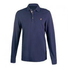 HKM Pánské polo tričko s dlouhým rukávem Trentino HKM, Velikost M