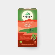 Organic India Tulsi Tummy - správné trávení, 25 sáčky