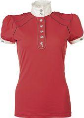 HKM Dámské jezdecké tričko Verona HKM Barva růžová, Velikost L