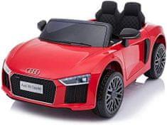 Beneo Elektrické autíčko Audi R8 small, 12V, 2,4 GHz dialkové ovládanie, USB / SD Vstup, odpruženie, 12V