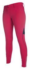 HKM Dámské rajtky s 3/4 silikonovým sedem Neon Sports Team HKM růžová, Velikost 38