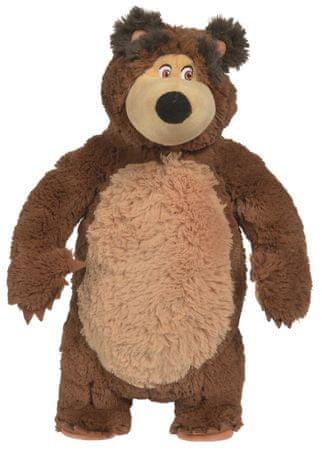 Simba lutka Maša i Medvjed - Maša Shake & Sound, 43 cm