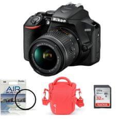 Nikon DSLR fotoaparat D3500 + AF-P 18-55VR + Fatbox 32GB + UV filter