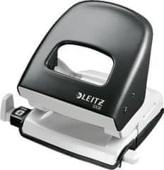 Leitz 5008 luknjač za 30 listov, črn