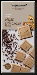 Bio Benjamin Čokoláda ~ svetlá s RAW kakovými kúskami (70 g)