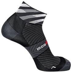 IronMan Ponožky IronMan® Road Cycling short - pánské Barva: Černá, Velikost: S[35-38]