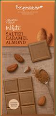 Bio Benjamin Čokoláda ~ Svetlá - slaný karamel a mandle (70 g)