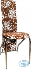 Falco Jídelní židle H-66 hnědý květ