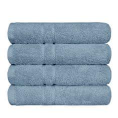 SCANquilt ručník COTTONA šedomodrá