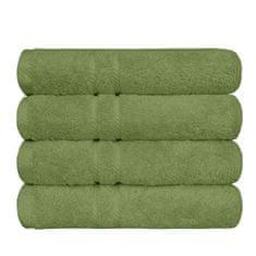 SCANquilt ručník COTTONA zelená