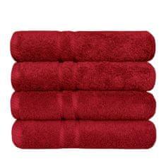 SCANquilt ručník COTTONA červená