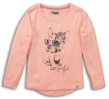 DJ-Dutchjeans dekliška majica Pes, 146, oranžna