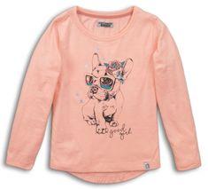 DJ-Dutchjeans dívčí tričko pejsek