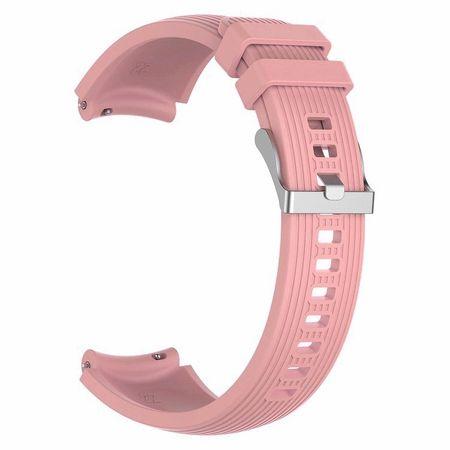 BStrap Samsung Gear S3 Silicone Davis szíj, Salmon Pink