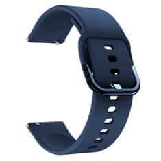 BStrap Samsung Galaxy Watch Active 2 40/44mm Silicone pašček, Dark Blue
