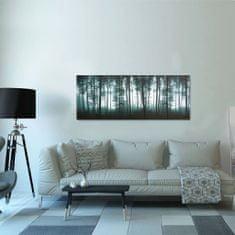 shumee Sada nástenných obrazov na plátne Stromy rôznofarebná 150x60 cm