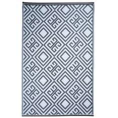 shumee Esschert Design grafikai mintás kültéri szőnyeg 120 x 186 cm OC12