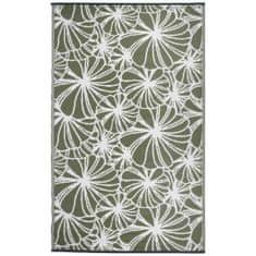 shumee Esschert Design virágmintás kültéri szőnyeg 241 x 152 cm OC21