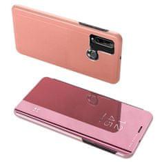 MG Clear View knížkové pouzdro na Huawei Y6p, růžové