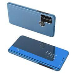 MG Clear View knížkové pouzdro na Huawei Y6p, modré