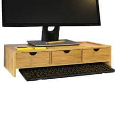SoBuy BBF03-N Zvýšení monitoru stojan na monitor stojan na