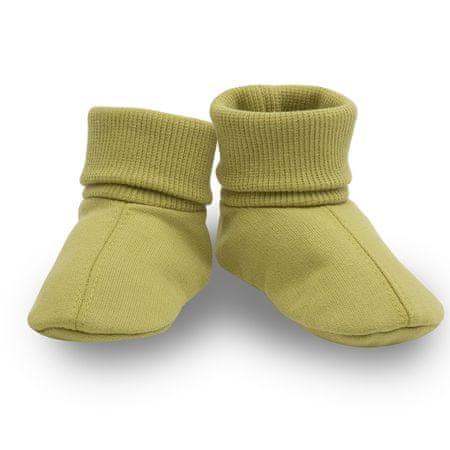 Pinokio baba cipő, 56/62, zöld