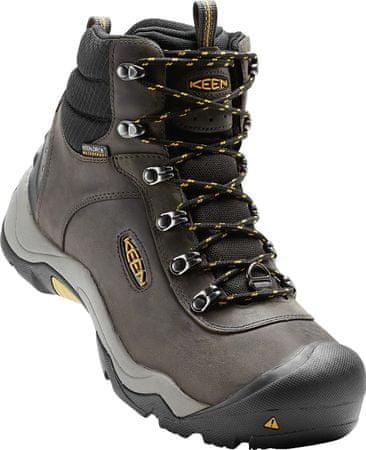 KEEN Revel III M moški treking čevlji, temno zeleni, 40