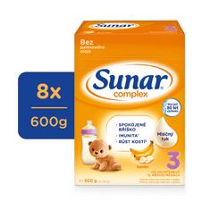 Sunar Complex 3 vanilka, 8x600g