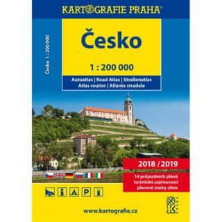 Česko autoatlas 1:200 000