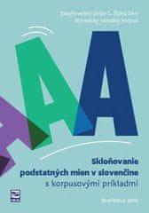 Skloňovanie podstatných mien v slovenčine s korpusovými príkladmi