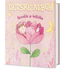 Dětské album Narodila se holčička
