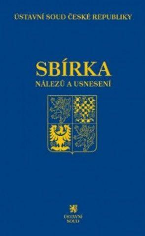 Sbírka nálezů a usnesení ÚS ČR, svazek 81