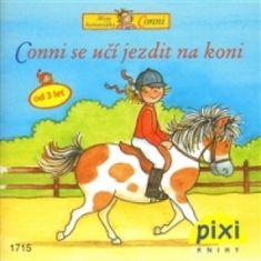 Conni se učí jezdit na koni