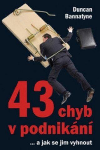 43 chyb v podnikání