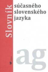 Slovník súčasného slovenského jazyka ag