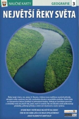 Naučné karty Největší řeky světa