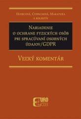 Nariadenie o ochrane fyzických osôb pri spracúvaní osobných údajov/GDPR