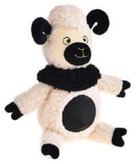 Petproducts Plyšová hračka ve tvaru ovečky - 27x23 cm