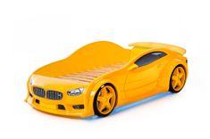 Futuka Kids Postýlka auto EVO, LED světla, Spodní světlo, Spojler