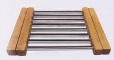 Koopman Bambusová rozkládací podložka pod horké hrnce 21,5 - 34,5 cm