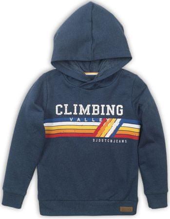 DJ-Dutchjeans CLIMBING fiú pulóver, 110, kék
