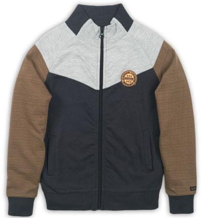 DJ-Dutchjeans jakna za dječake, 140, smeđa/siva