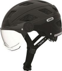 Abus Hyban+ black (clear visor) M