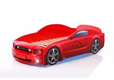 Futuka Kids Postel auto LIGHT PLUS F-Mustang, LED světla, Spodní světlo