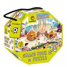 Ludattica Puzzle pro děti - Ludattica - Barcelona - 150 dílů