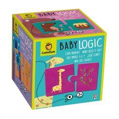 Ludattica Duo puzzle Baby logic - Ludattica - Co zvířátka jí