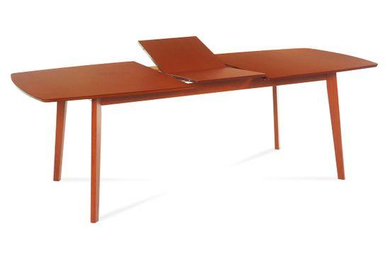 Autronic Jídelní stůl dřevěný rozkládací 180 x 100 cm dekor třešeň BT-6820 TR2