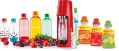 SodaStream SADA SHOP SPIRIT RED FAMILY PACK
